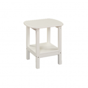 Poly 2-Tier Oval Side Table