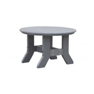 "32"" Round Tressle Conversation Table"
