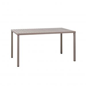 Cube 140x80 Tortora Table