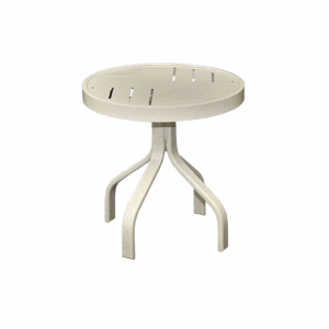 "18"" Round Boardwalk Side Table"