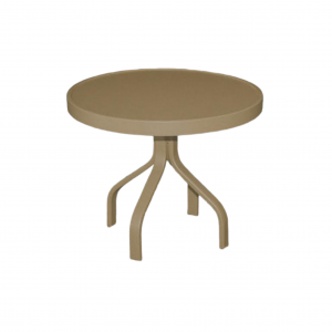 "23"" Metal Top End Table"