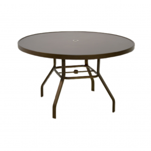 "42"" Metal Top Dining Table"