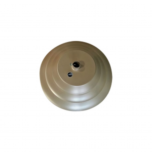 AF85 Aluminum Round Umbrella Base Filled W/ Concrete
