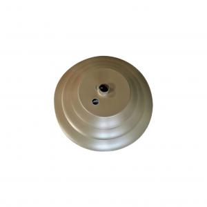 AF85 Aluminum Round Umbrella Base Filled W/ Concrete