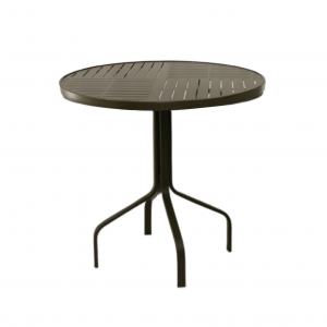 "29"" Round Boardwalk Balcony Height Table"