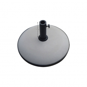 67 Lb. Umbrella Base W/ Short Powder Coated Steel Pole