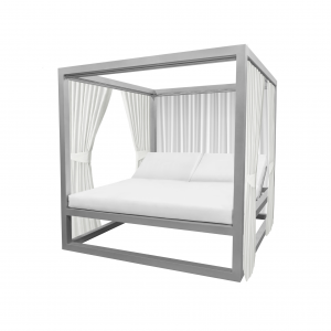 Breeze Daybed W/ Functional Side Curtains (3 Sides)